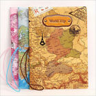 1pcs 3D Map of Europe document bag Travel Passport Cover Case  ID Holders