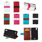 6 colors Flip Stand PU Leather Cover Case Pouch For LG Mobile Phones 04