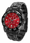 Wisconsin Badgers Fantom Mens Watch Gunmetal Red Dial