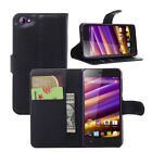 Book Flip Wallet stand Leather Cover Case For wiko Jimmy (8 Colors) a