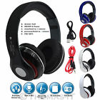 Foldable Wireless+Wired Bluetooth 4.2 Extra Bass Stereo Hands-free Headphone MIC