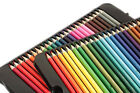 Colouring Pencils Set Drawing Artist Kids Coloured FREE ADULT COLOURING BOOK