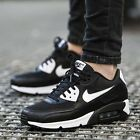 Women's Nike Air Max 90 Essential Shoes 616730-023 Black Silver White Brand New!