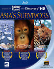 Asia's Survivors New Blu-ray Creatures of the Thaw, Red Ape, Island Magic NEW
