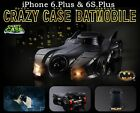 New Batmobile/Batman Car Crazy Premium Hybrid Plastic Case For iPhone 7 6S Plus