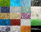 100g Glass Chippings Various Colours and Sizes Home Garden Wedding Mosaic Craft