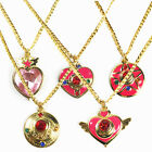 Sailor Moon Mars Jupiter Mercury Venus Pendant Cosplay Necklace Jewelry