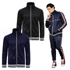 Brave Soul Mens Vintage Sweatshirt Top Or Joggers New Designer Striped Tracksuit