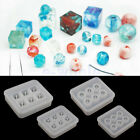 Silicone Gem Beads Moulds Mold Resin Jewellery Making Pendant Jewelry Craft HM