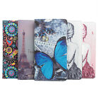 Stylish Printing Painted Wallet PU Leather Stand Case Cover For Huawei GR5 Phone