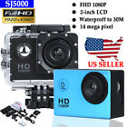 1080P Full HD SJ5000 DV Sports Recorder Car Waterproof Action Camera Camcorder