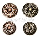 Antique Round Pull Handles Knobs For Cabinet Drawer Door Closet Dresser Wardrobe