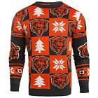 Forever Colletibles NFL Men's Chicago Bears 2016 Patches Ugly Sweater