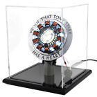 DIY Master Grade Iron Man MK1 Arc Reactor Display Box Stand Base Glass Case USB
