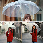 Lady New Transparent Clear Arch Umbrella Parasol Wedding Party dance props Gift