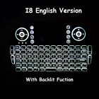 Keyboard Backlit I8 Wireless 2.4 GHz Keyboard Touchpad Compatible With HD Device