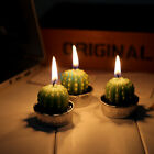 New 6Pcs/Set Cactus Plant Pot Candles Birthday Wedding Party Home Ornament Gifts