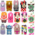 3D Cartoon Soft Silicone Back Case Cover For For LG G Stylo2 LS775 Stylus 2 K520