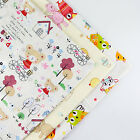160x50cm Bear Cartoon cotton fabric patchwork quilt sewing DIY Cloth 5 Colors