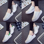 Women Ladies Silm Casual Running Lace up Shoes Strong Canvas Sneakers