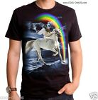 Winged Sloth Gladiator riding a Unicorn T-Shirt / LOL! You'll never be as cool!