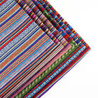 Multicoloured Polyester Gypsy fabric patchwork quilting Pre-Cut sewing DIY Cloth