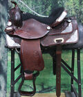 TO100M HILASON TREELESS WESTERN BARREL RACING TRAIL PLEASURE SADDLE 14 15 16 17