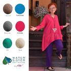 WATERSISTER Cotton Gauze ALBANY TUNIC Long Top 1(M/L) 2(XL/1X) 3(2X) DISC COLORS