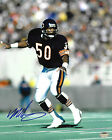 MIKE SINGLETARY Signed Chicago BEARS Action 8x10 PHOTO 1985 Baylor SCHWARTZ COA