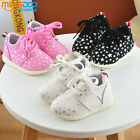 New Fashion Kids Boys Girls Casual Sports Shoes Toddler Running Shoes Laces