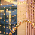 1M Glass Crystal Bead Curtain Fashion Luxury Home Living Room Bedroom Decoration