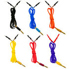 6' Silicone Tattoo Clip Cord Autoclavable Plated Phono Gold Plug CHOOSE COLOR
