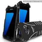 R-JUST Batman Metal Aluminum Shockproof Case Cover For Samsung Galax S6 S7 S8+++