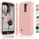 Luxury Shockproof Hybrid Rugged Rubber Slim Hard Case Cover for LG Treasure LTE