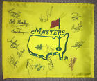 MASTERS Flag Signed 17 Golfers Augusta National Golf