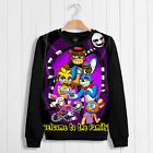 Game Unisex Sweater Coat Thicken Hoodie Five Nights at Freddy's Puliover Cos#tf2