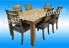 Positive 7 Piece Dining Set - 6 Chairs with Table 1800mm (L) - HArdwood