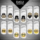 2016 Women 3D Print Casual Emoji Socks Men Unisex Low Cut Ankle Cotton Socks New