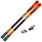 VOLKL Junior Racetiger SW GS R Race SKIS w Plate w Comp 100 EPS NEW 115842K