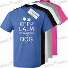 Keep calm I'm talking to my dog T-Shirt gifts for Him, Her Puppy, pugs tshirts