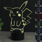 Dinosaur 3D LED illusion Night Light 7 Change Color Touch Switch Table Lamp#