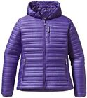Patagonia Women's Ultralight Down Hoody Medium Violetti w/Defects