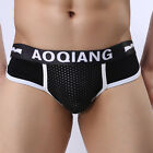 New Men's Cotton Underwear Boxer Briefs Shorts Bulge Pouch Underpants Size S-L