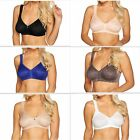 Breezies Safari Lace Seamless Wirefree Support Bra A275343 No Padding Unlined