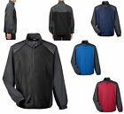 MEN'S LIGHTWEIGHT, TWO TONE, ZIP UP, WIND JACKET, WINDBREAKER, POCKETS, S-5XL
