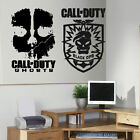 LARGE X BOX XBOX ONE PS3 PS4 CALL OF DUTY WALL ART STICKER TRANSFER  VINYL DECAL