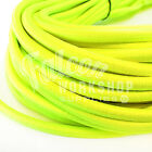 10mm ELASTIC BUNGEE ROPE SHOCK CORD TIE LUMINOUS YELLOW ROOF RACKS TRAILERS
