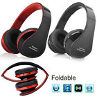 Foldable Wireless Bluetooth Headset Stereo Headphone Earphone for iPhone Samsung