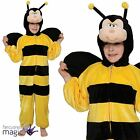 *Childs Boys Girls Bumblebee Bee Bug Book Day Fancy Dress Costume Outfit Onesie*