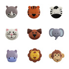 Single Button 20mm Animal Faces Cute Animals Novelty 32 Lignes Craft Button